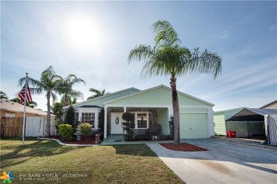 Davie Single Family Home For Sale: 12910 SW 15th Mnr