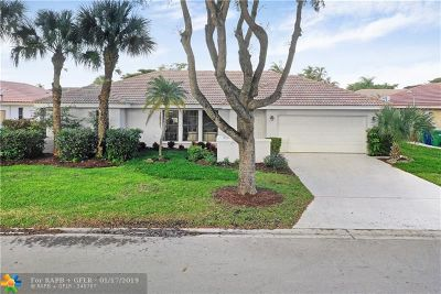Coral Springs Single Family Home For Sale: 6383 NW 55th St