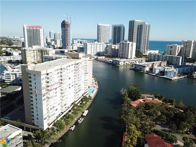 Hallandale Condo/Townhouse For Sale: 137 Golden Isles Dr #1107