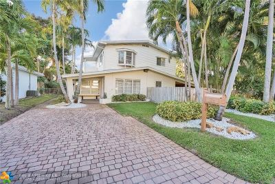 Oakland Park Single Family Home For Sale: 3509 NE 20th Ave