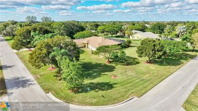 Boynton Beach Single Family Home For Sale: 6589 O Hara Ave