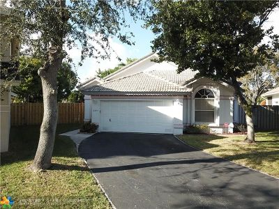 Margate Single Family Home For Sale: 6995 NW 29 Court