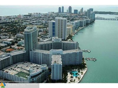 Miami Condo/Townhouse For Sale: 1500 N Bay Rd #910S