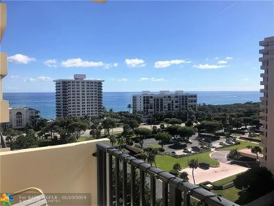 Boca Raton Condo/Townhouse For Sale: 2121 N Ocean Blvd #1203W