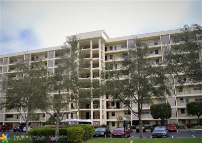 Pompano Beach FL Condo/Townhouse For Sale: $129,000