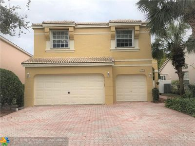 Coral Springs Single Family Home For Sale: 11361 NW 49th Dr
