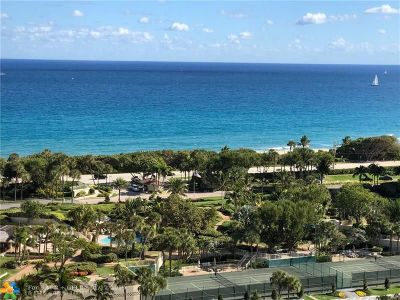 Boca Raton Condo/Townhouse For Sale: 4201 N Ocean Blvd #1608
