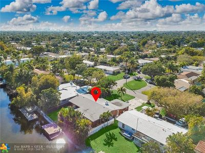 Fort Lauderdale Single Family Home For Sale: 2924 NE 21st Ter