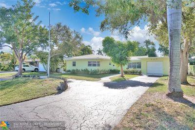 Pompano Beach Single Family Home For Sale: 2622 NE 8th St