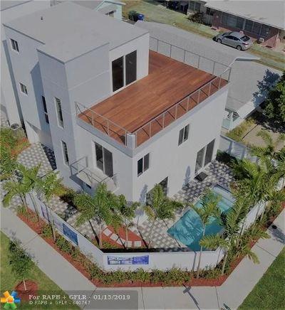 Fort Lauderdale Single Family Home For Sale: 1601 NE 8 Street