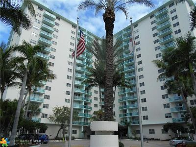 Hollywood Condo/Townhouse For Sale: 3801 S Ocean Dr #14S