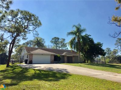 West Palm Beach Single Family Home For Sale: 11254 51st Ct