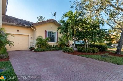 Coral Springs Condo/Townhouse For Sale: 5742 NW 119th Dr