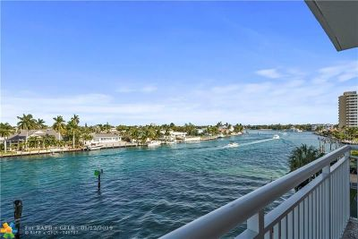 Pompano Beach Condo/Townhouse For Sale: 2611 N Riverside Dr #403