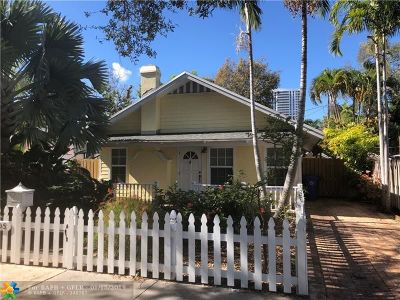 Fort Lauderdale Single Family Home For Sale: 205 SE 12th Ave