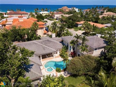 Fort Lauderdale FL Single Family Home For Sale: $3,425,000