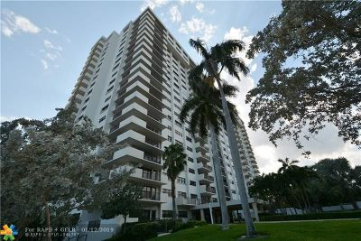 Fort Lauderdale Condo/Townhouse For Sale: 3200 Port Royale Dr #602