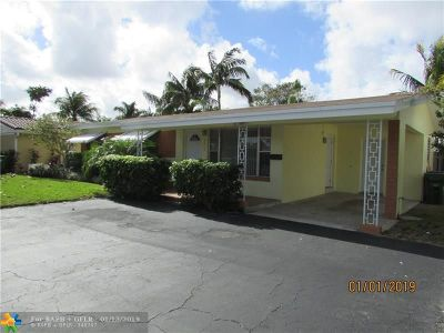 Wilton Manors Rental For Rent: 2809 NW 9th Ave