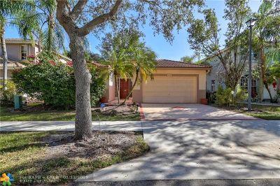 Coconut Creek Single Family Home Backup Contract-Call LA: 6252 Osprey Ter