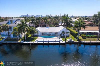 Fort Lauderdale Single Family Home For Sale: 3121 NE 58th St
