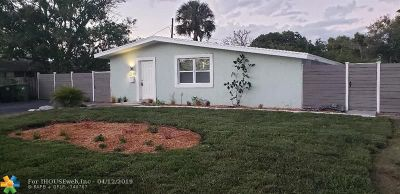 Fort Lauderdale Single Family Home For Sale: 2839 SW 13th Ct