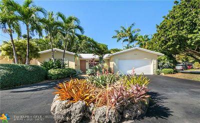 Oakland Park Single Family Home Backup Contract-Call LA: 3581 NE 15th Ave