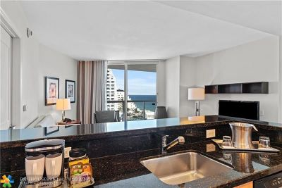 Fort Lauderdale Condo/Townhouse For Sale: 505 N Fort Lauderdale Beach Blvd #1506