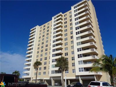 Pompano Beach Condo/Townhouse For Sale: 2639 N Riverside Dr #506