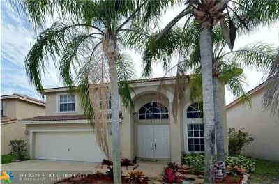 Coral Springs Rental For Rent: 11524 NW 6th Pl
