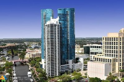 Fort Lauderdale Condo/Townhouse For Sale: 333 Las Olas Way #3202