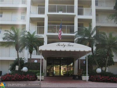 Pompano Beach FL Condo/Townhouse For Sale: $253,900