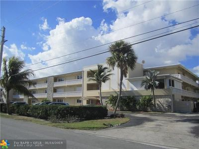Pompano Beach Condo/Townhouse For Sale: 1001 N Riverside Dr #301