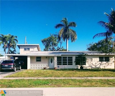 Pompano Beach Single Family Home For Sale: 1280 SW 4th Ter