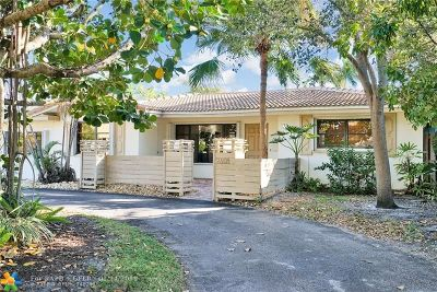 Wilton Manors Single Family Home For Sale: 2408 NE 19th Ave