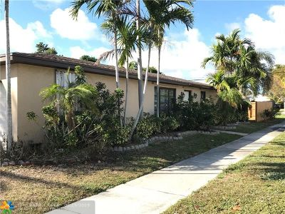Pompano Beach Single Family Home For Sale: 721 NE 11th Ave