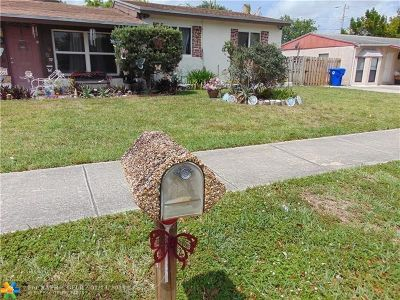 North Lauderdale Single Family Home For Sale: 6511 SW 17th St