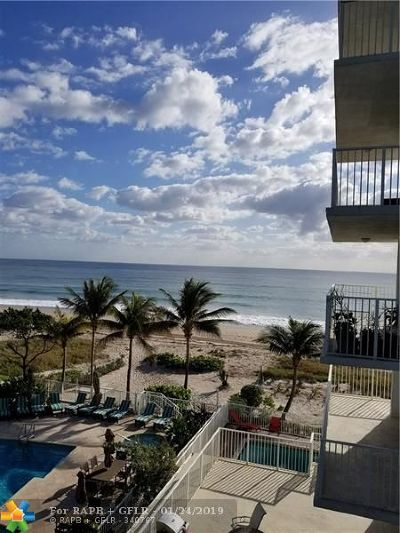 Pompano Beach Condo/Townhouse For Sale: 812 Briny Ave #4D