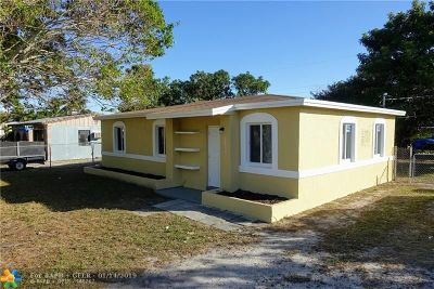 Fort Lauderdale Single Family Home For Sale: 1612 NW 13th St