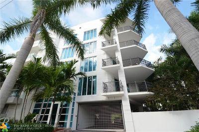 Fort Lauderdale Condo/Townhouse For Sale: 1760 E Las Olas Blvd #400