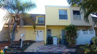 Coconut Creek Rental For Rent: 296 Sunshine Dr #296