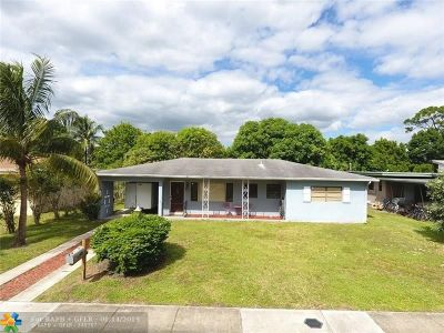 Fort Lauderdale Single Family Home For Sale: 901 Alabama Ave