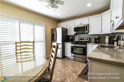 Delray Beach Condo/Townhouse For Sale: 5287 Copperleaf Cir