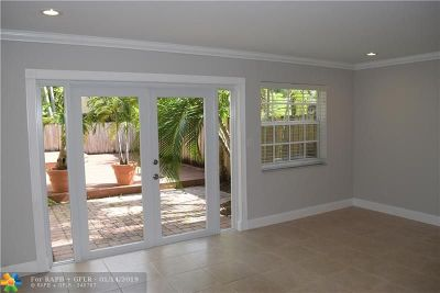 Wilton Manors Rental For Rent: 2136 NE 9th Ave