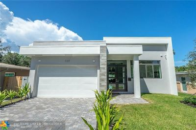Wilton Manors Single Family Home For Sale: 117 NE 21st Ct