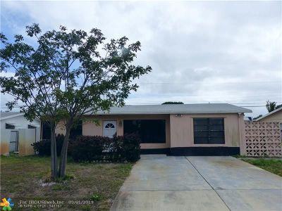 Pompano Beach Single Family Home For Sale: 1612 NE 31st Ct