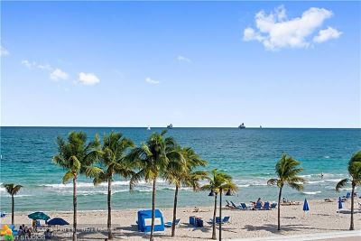 Fort Lauderdale Condo/Townhouse For Sale: 345 N Fort Lauderdale Beach Blvd #305