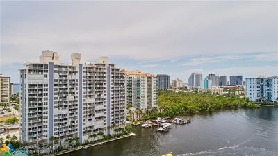 Fort Lauderdale Condo/Townhouse For Sale: 2800 E Sunrise Blvd #10D