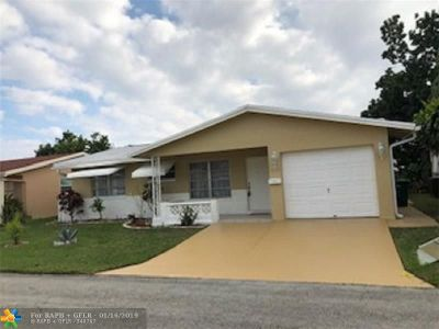 Tamarac Single Family Home For Sale: 4312 NW 47th Ct