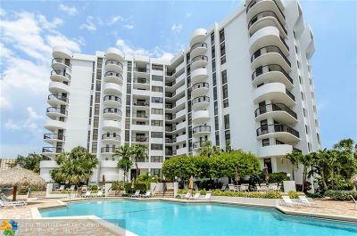 Pompano Beach Condo/Townhouse For Sale: 1361 S Ocean Blvd #902