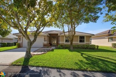 Coral Springs Single Family Home For Sale: 4893 Kensington Cir